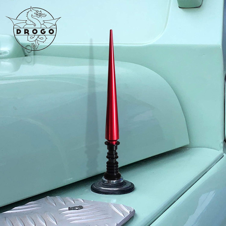 Red Tough Material Creative Design FM//AM Reception Enhanced DROGO 5.25 Lightsaber Replacement Antenna for Jeep Grand Cherokee 2011-2015