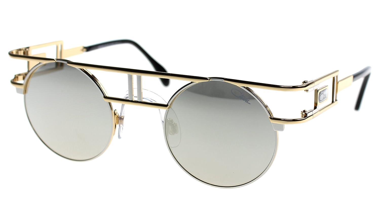 0a281970fa6 Cazal 958 color 96 Black-Gold   Grey mirror flash lenses  Amazon.ca   Clothing   Accessories