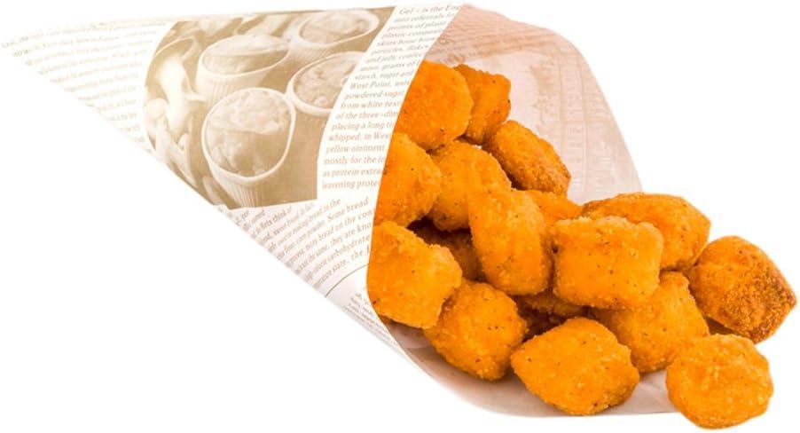 Paper Food Cones, Finger Food Cones - 7.9
