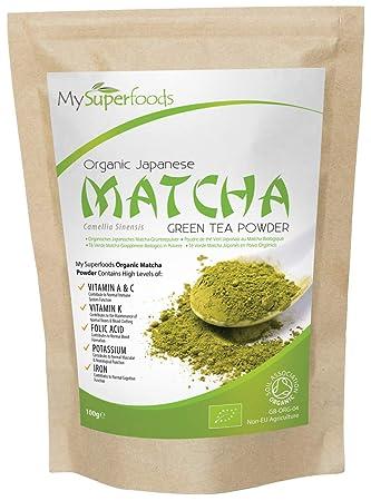 Té verde Matcha (100 gramos) | MySuperFoods | Más antioxidantes que cualquier otro alimento