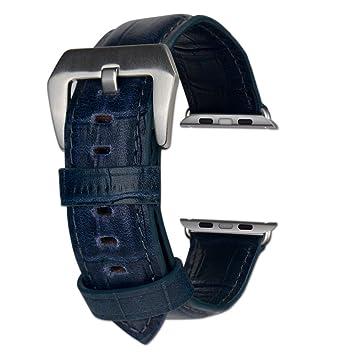 COCASES Compatible con i Watch, Cuero, Pulseras de Repuesto Patron ...