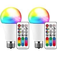 iLC Bombillas Colores RGBW Lámpara LED Bombilla Regulable