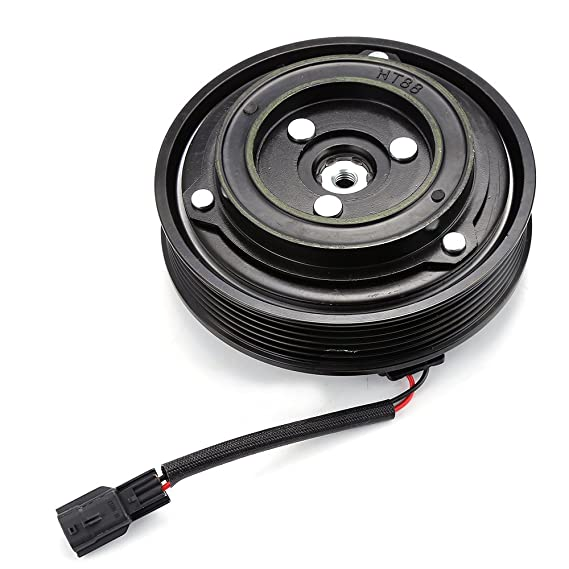 Amazon.com: JEOBEST A/C Compressor Clutch Pulley With Bearing Coil Plate For 08-13 Nissan Rouge 2.5L: Automotive