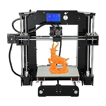 BESTSUGER Impresora 3D, extrusora 3D, Volumen de construcción 220 ...
