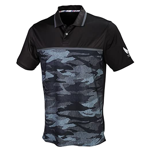 e12e6b0e Amazon.com: PUMA Golf Mens Volition Color Block Polo: Sports & Outdoors