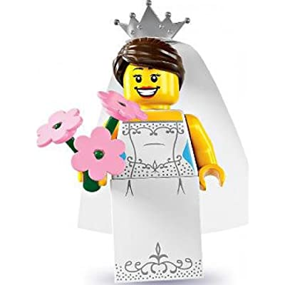Lego Series 7 Bride Mini Figure: Toys & Games