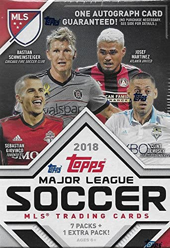 Unopened Box of Packs 2018 Topps MLS Fútbol sin Abrir Blaster Caja de Paquetes con una Garantía DEDICADA Tarjeta por Caja: Amazon.es: Deportes y aire libre