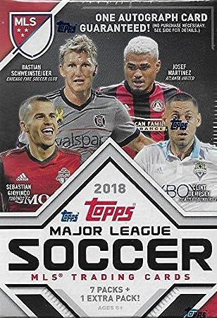 Unopened Box of Packs 2018 Topps MLS Fútbol sin Abrir ...