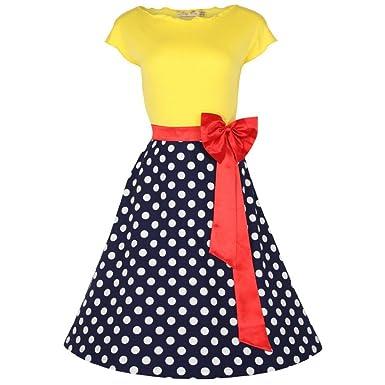 Kleid 50er jahre rot