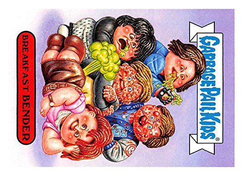 2018 Topps Garbage Pail Kids Series 1 We Hate the 80s Trading Cards 80s MOVIES #4A BREAKFAST BENDER ()
