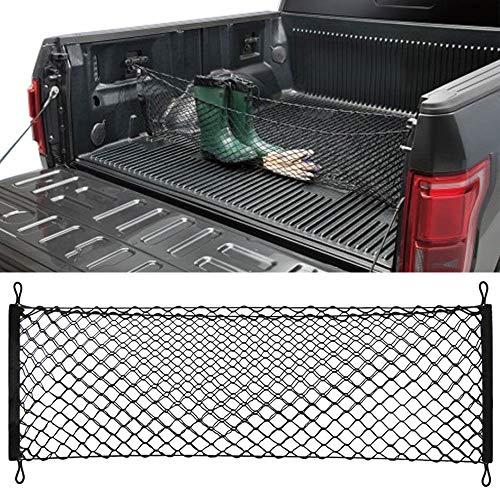 Truck Bed Cargo Net Car Hammock Style Trunk Storage Organizer Net Fit Ford F-150 F150 2014 2015 2016 2017 2018 2019