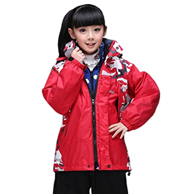 53e259e5111e Tortor 1Bacha Kid Boy Girl 3-in-1 Interchange Ski Jacket Winter ...