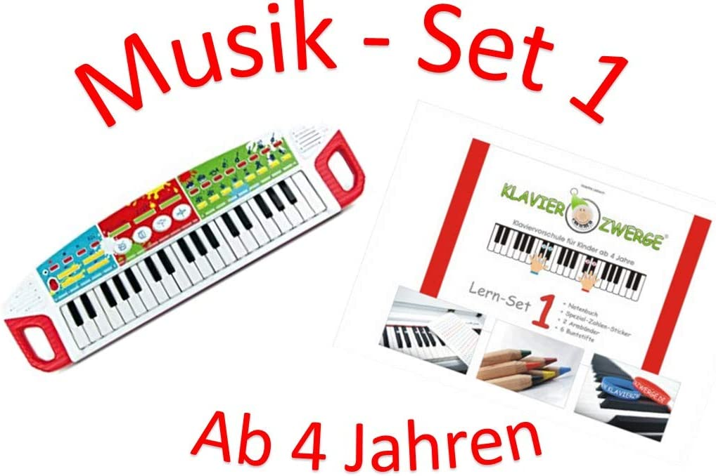 Conjunto de música 2: Niños teclado Simba + Piano empequeñece ...