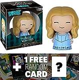 Alice: Funko Dorbz x Disney Alice in Wonderland Mini Vinyl Figure + 1 FREE Classic Disney Trading Card Bundle (078157)