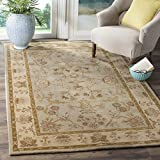 Safavieh Antiquities Collection AT62A Handmade Traditional Light Grey and Beige Area Rug (8′ x 10′) Review