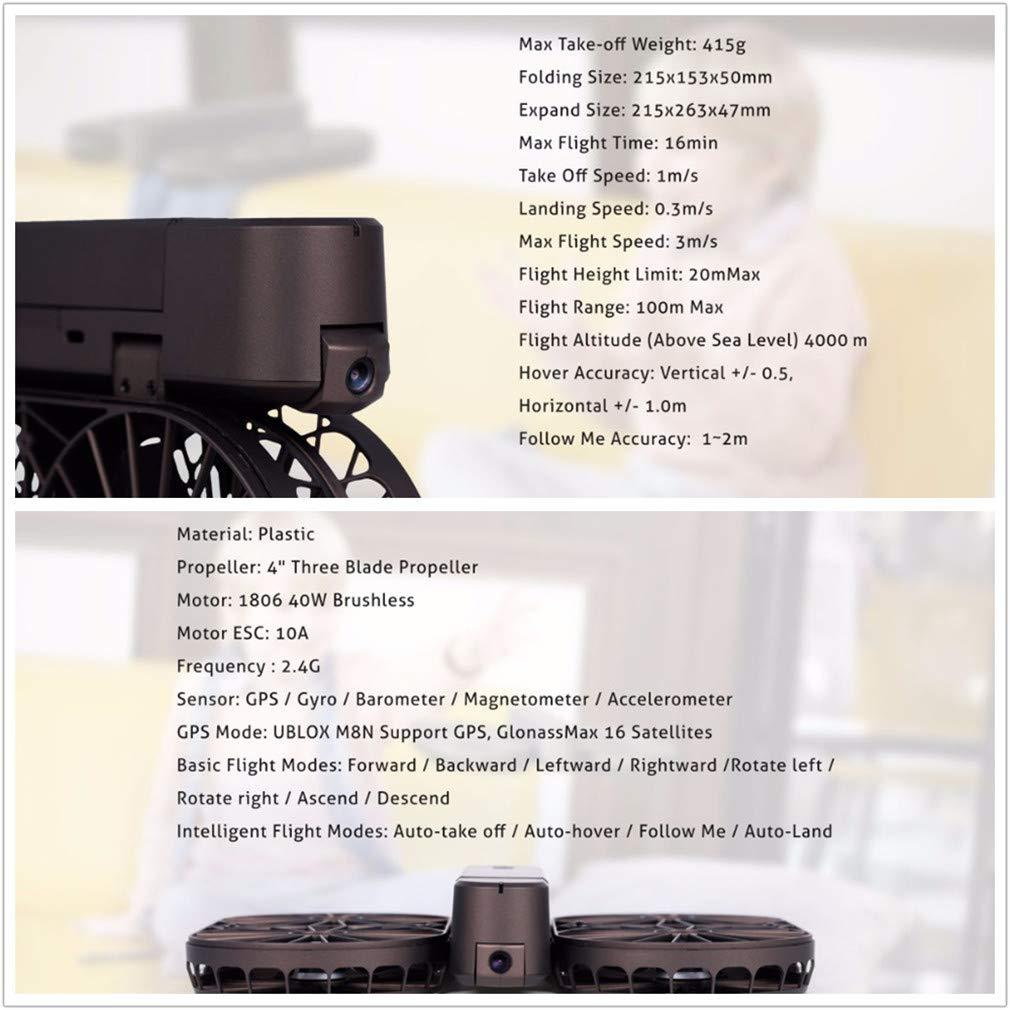 LSQR Autodisparador Drone 4 Ejes Control Remoto Aviones Fotografía aérea Seguimiento GPS Posicionamiento Video RC avión: Amazon.es: Deportes y aire libre