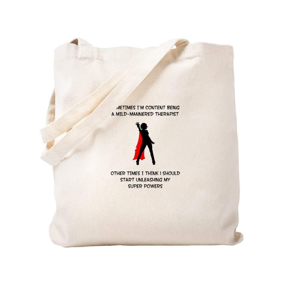 クラシック CafePress Therapist – Superheroine Therapist – ナチュラルキャンバストートバッグ Superheroine、布ショッピングバッグ CafePress S ベージュ 0198983177DECC2 B0773Q7864 S, ディーライズ2号店:f0e00d61 --- 4x4.lt