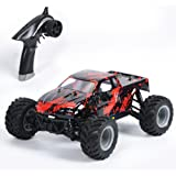 GPTOYS S919 Remote control Truck 20+Mph 2.4GHz 4WD Off Road RC Car, 1/18 Scale-Red