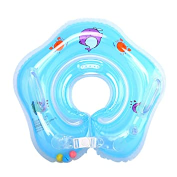 Inflatable Baby Swimming Ring Float Ball Pool Accessories for 1-18 Months  Baby Kids or Pets