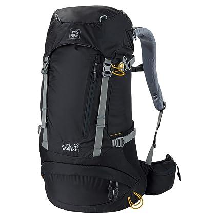 5be66127178 Amazon.com : Jack Wolfskin ACS Hike Pack Rucksack, Black, 26 L ...