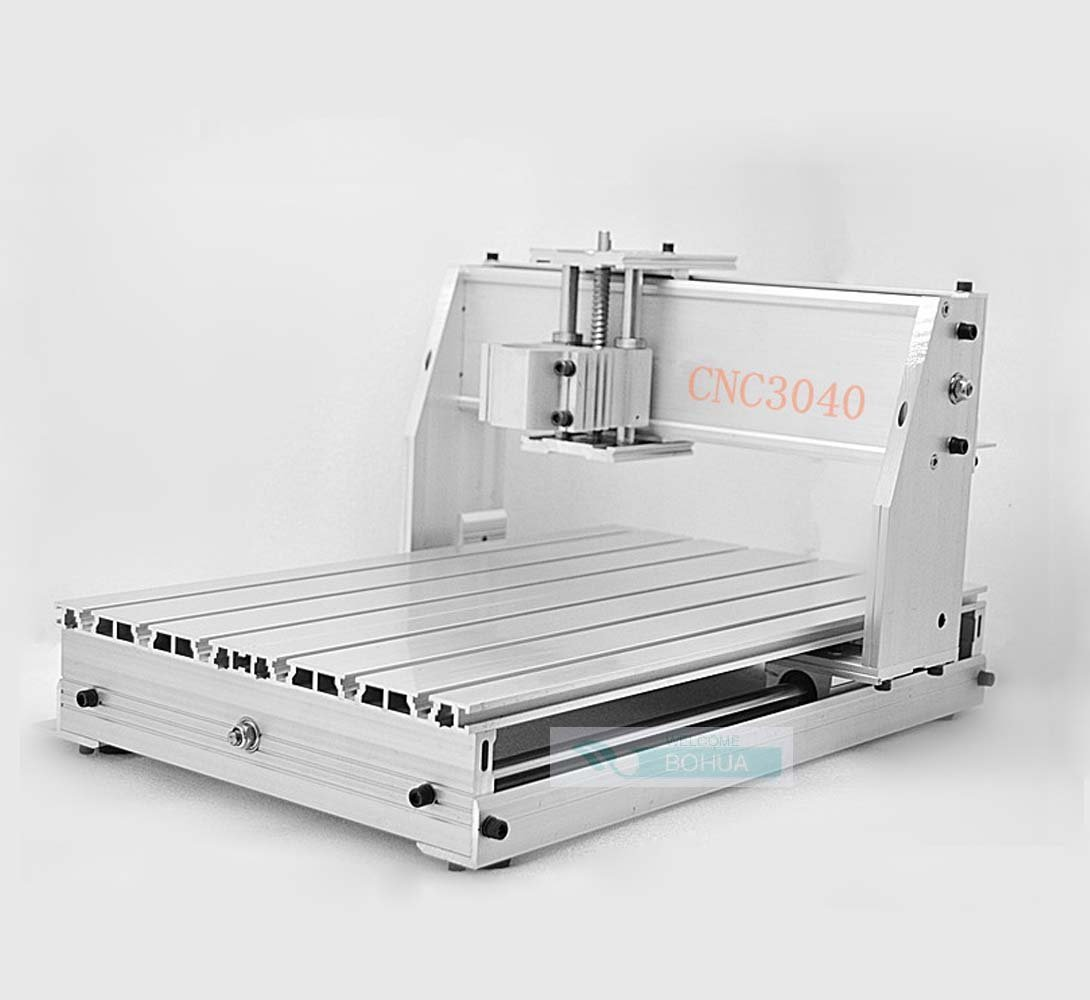 3 Axis CNC Router Engraver Milling Machine Engraving Drilling 3040 CNC router milling machine mechanical kit CNC aluminium alloy Frame ball screw for DIY user Review