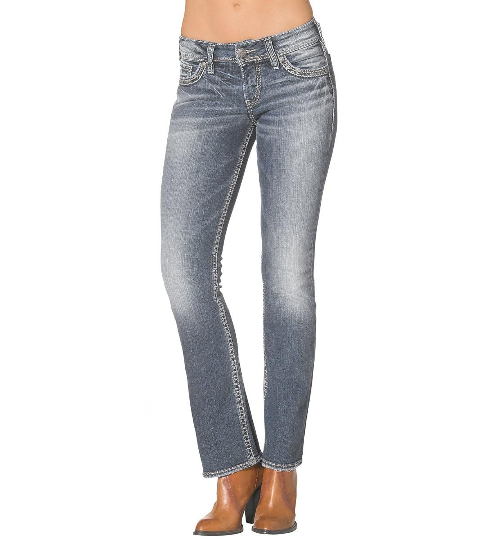 Silver Jeans Co. Suki Mid Boot Medium Wash 27 x 33