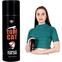 Shadow Securitronics Tom CAT No Entry Rat Repellent Spray for Cars Highly Effective with Mask and Gloves Lasts 1 Year Leak Free Easy to Spray Nozzle 1st time in India