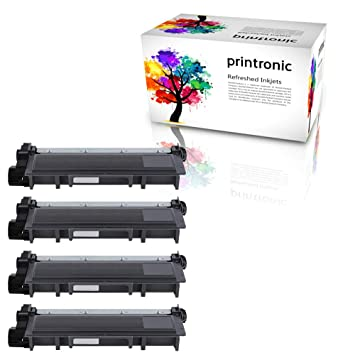 Printronic 4 unidades Compatible Brother TN630 TN660 cartucho de ...
