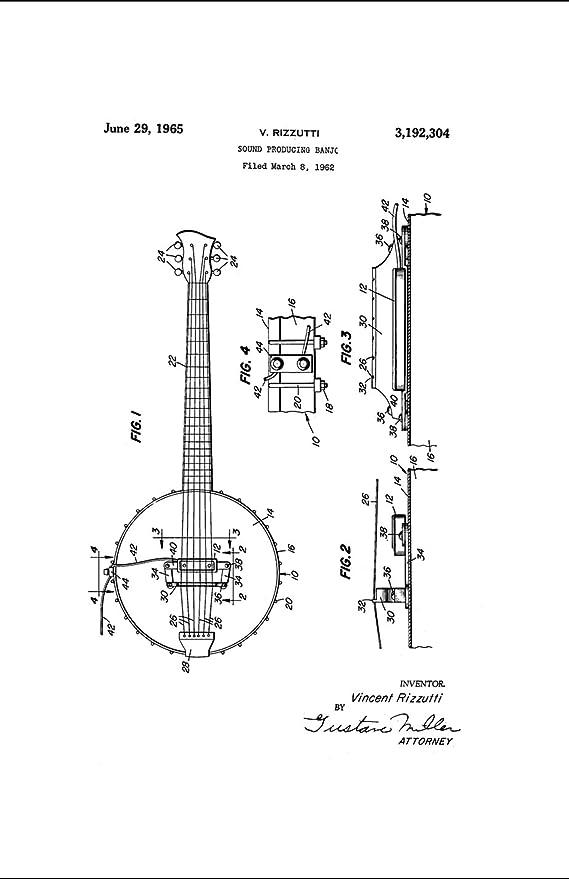 Amazon Com Framable Patent Art The Original Ready To Frame Dcor