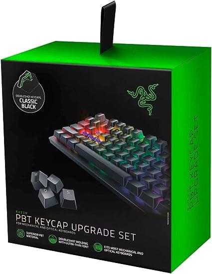 Razer Kit de actualización de teclas de PBT - Classic Black ...