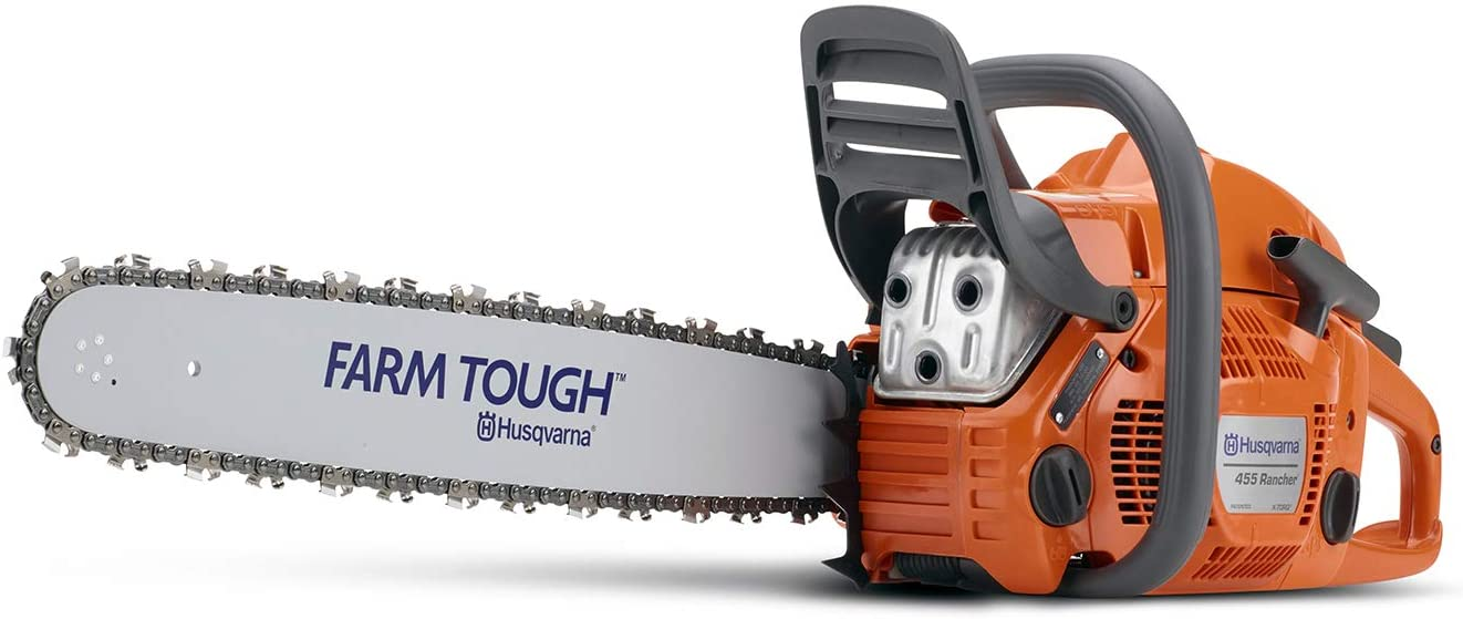 1. Husqvarna 455 Rancher Chainsaw