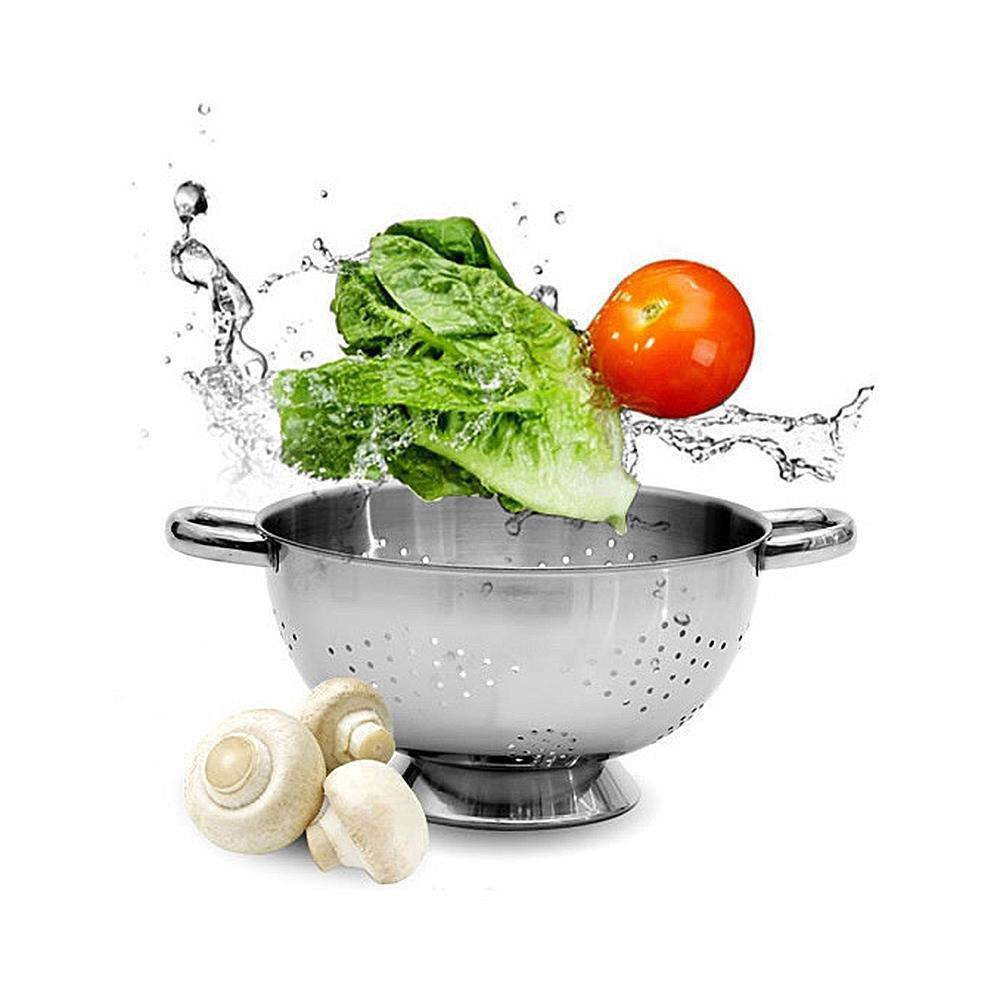 Pretty-Jin en Acier Inoxydable Vidange Égouttoir Fruits Légumes Lavage  Panier De Vidange Filtre De 509751d52d37