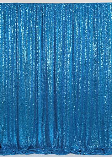 8ftx8ft Aqua Blue Sequin Backdrop Stand Aqua Blue Party Backdrop Photography Backdrop Sparkly Backdrop Curtain Backdrop