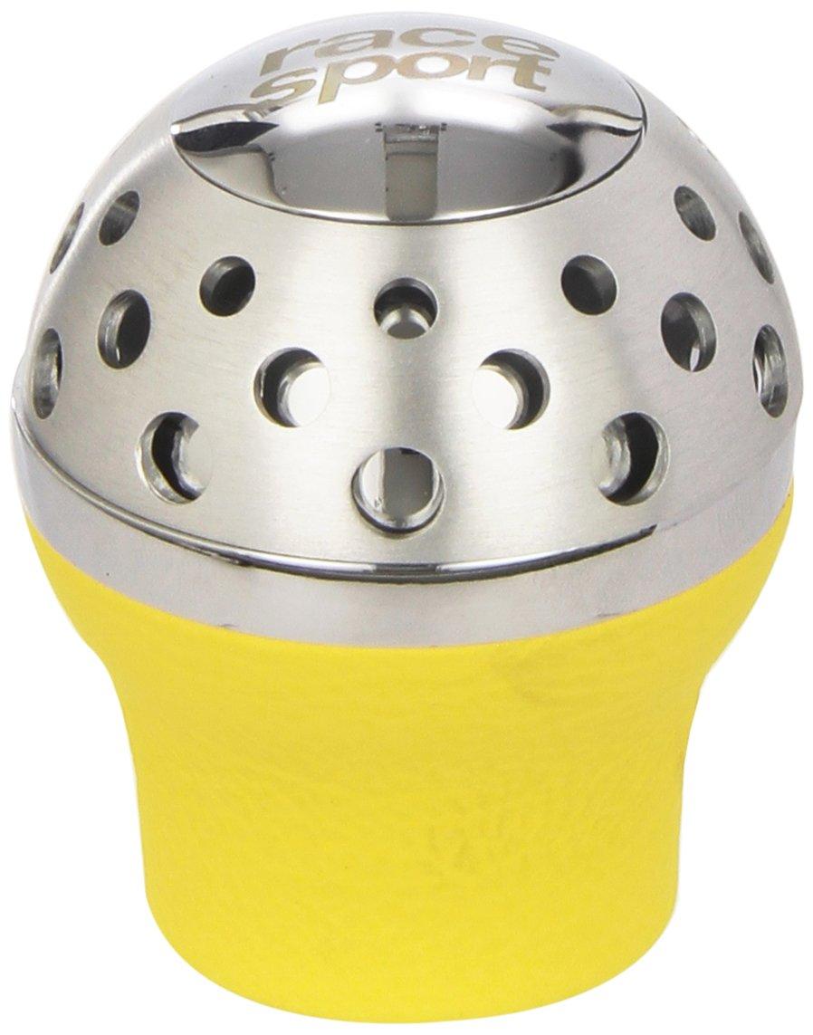 Sumex 8000700 Gear Knob Speedster Leather Lift Reverse Yellow