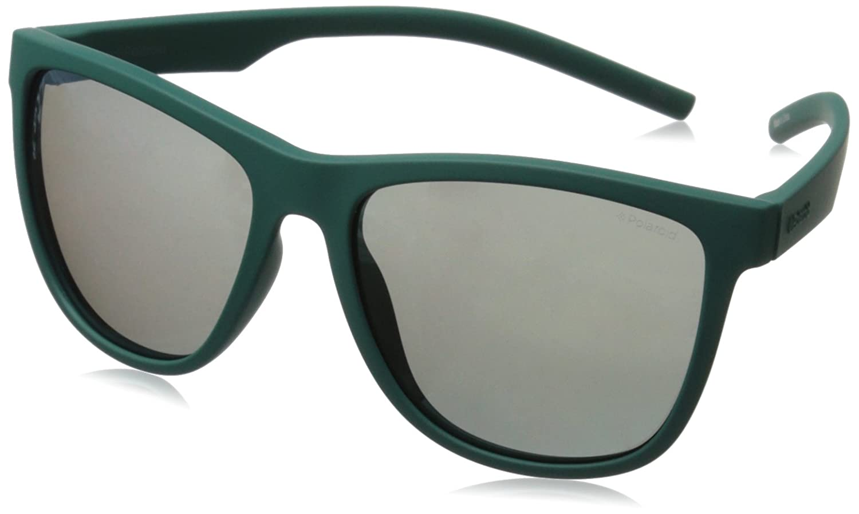 Polaroid PLD 6014/S LM VWA Gafas de Sol, Unisex Adulto, Verde (Green/Grey Goldmir Pz), 56