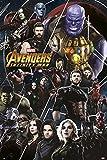Grupo Erik Editores GPE5243 Infinity War Poster, Carta, Multicolore, 61 x 91.5 x 0.1 cm