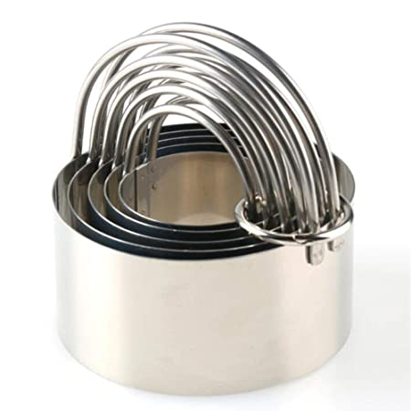 Molde para hornear con hebilla redonda de acero inoxidable para ...