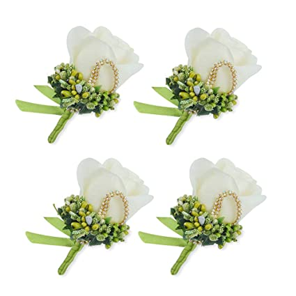 Symbol Of The Brand Peach Rose Bouquet Brooch Floral Corsage Wedding Flower Boutonniere Lapel Pin 12 Jewellery & Watches