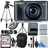 Canon PowerShot SX730 Digital Camera PROFESSIONAL Accessory Bundle w/ DigitalAndMore Digital Camera Cleaning Kit