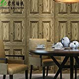 Buggy Vintage wood doors wood grain paper personality jade Chinese restaurant features wood shop clothing store wallpapers , 2