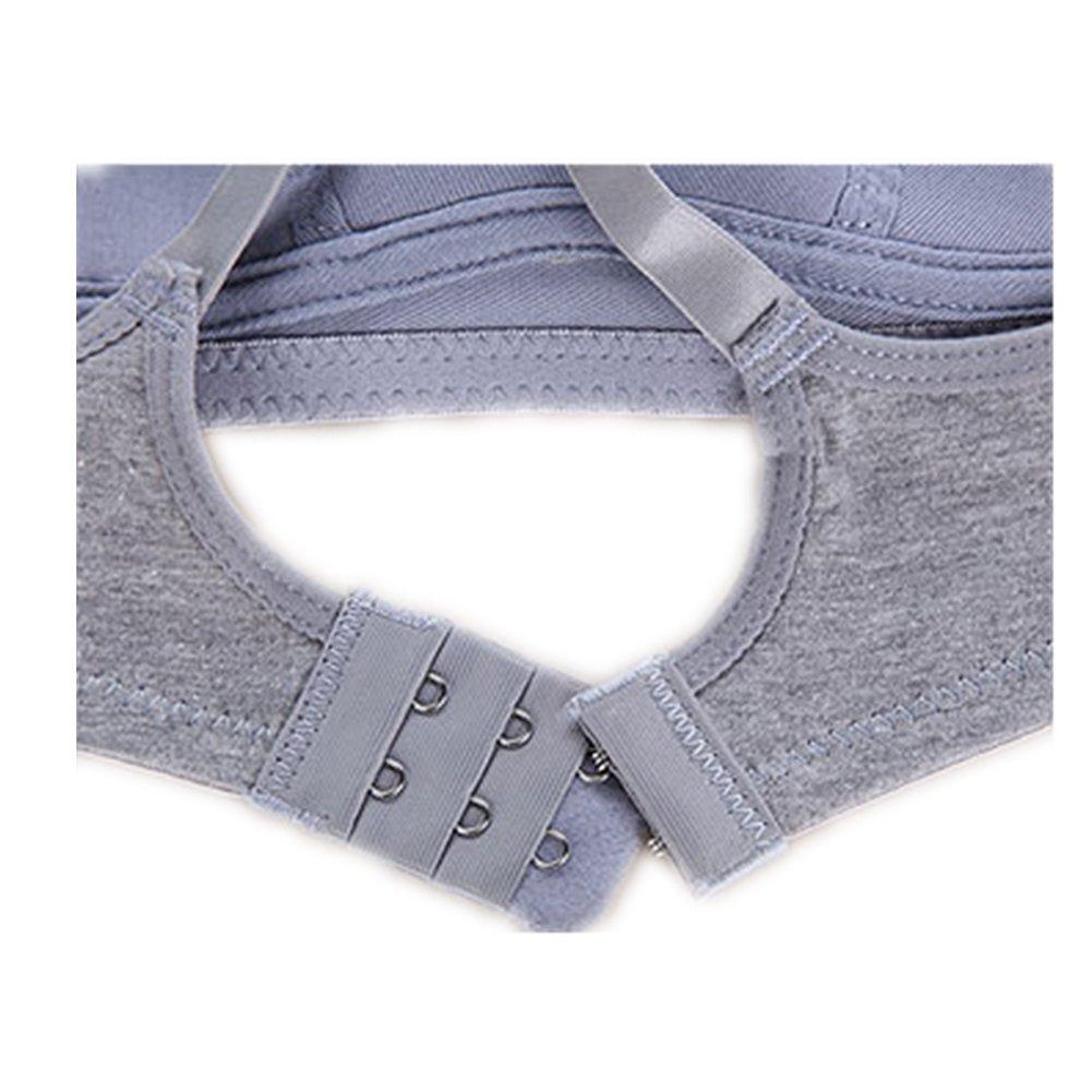 VictorySweety Big Girls High Elasticity Sports Wireless Bra Underwear
