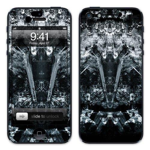 Diabloskinz B0081-0034-0002 Vinyl Skin für Apple iPhone 5/5S Backstab
