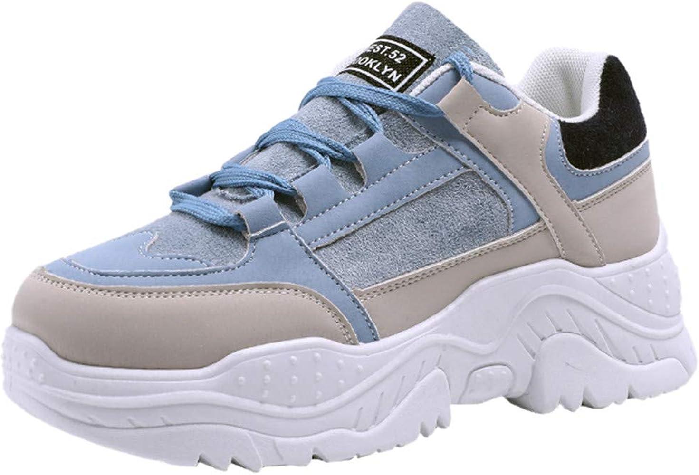 ZARLLE Zapatos de Plataforma para Mujer,Fondo Grueso Zapatos ...
