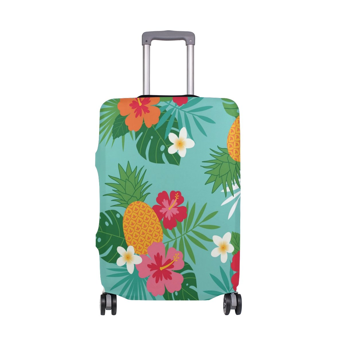 OREZI 3D Tropical Summer Pattern Luggage Protector Suitcase Cover 18-32 Inch