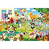 MasterPieces Pet Party Giant Kids Floor Puzzle, 24-Piece