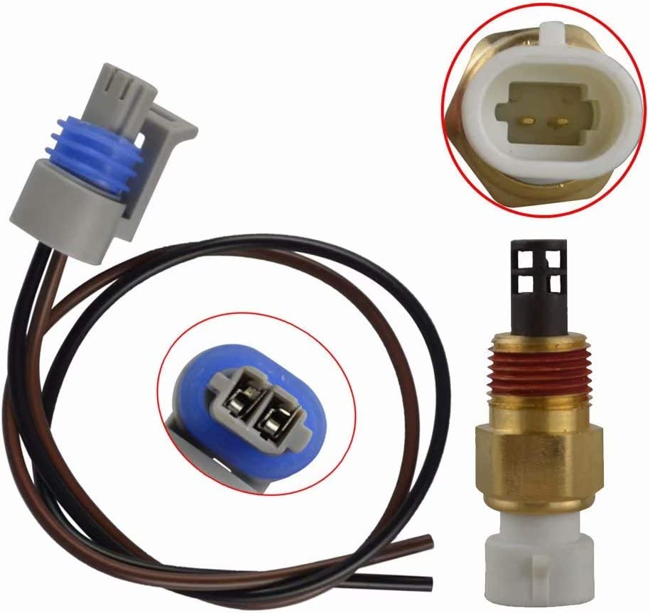 For GM Chevrolet Intake Air Temperature Sensor IAT MAT ACT W//Pigtail Connector 25036751,25037225 362691489000