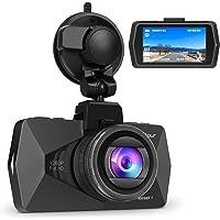 """Crosstour Telecamera per Auto, Dash Cam Full HD 1080P 2,7"""" LCD HDR Obiettivo Grandangolare di 170 Gradi Rilevatore di Movimento G-Sensor (CR500)"""
