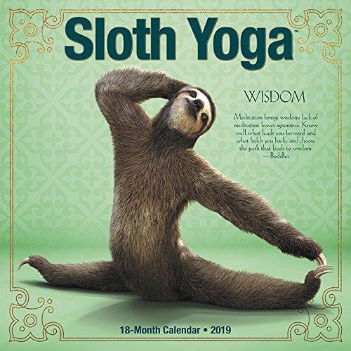 Sloth Yoga 2019 Calendar