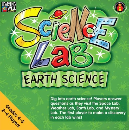 Edupress Game Learning Well Science Lab Earth Science, Grades 4-5