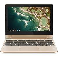 Lenovo Chromebook C330 Convertible Notebook 11.6 Inch HD Touchscreen - (Champagne Gold) (MediaTek 64-bit CPU, 4GB RAM, 32GB eMMC, Chrome OS)
